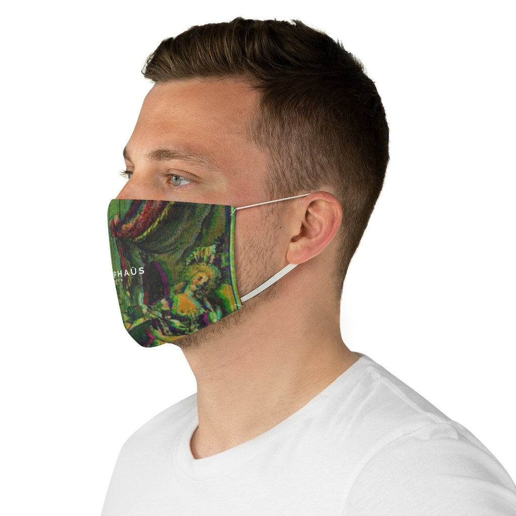 COUP DÉTAT Fabric Face Mask - TRAMPHAÜS LONDON