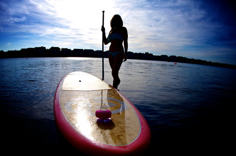 paddle boarding speaker