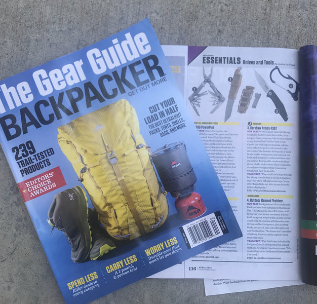 Mad love to Backpacker Magazine