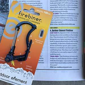 Backpacker Magazine Firebiner Review