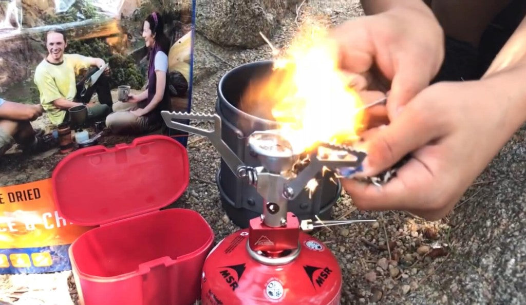 Cameron lighting camp stove