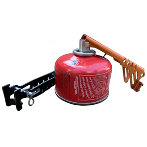 Handled Pot Gripper and Fuel Canister Recycle Tool Canister puncture