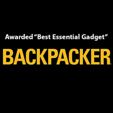 Load image into Gallery viewer, Best Essential Gadget award logo from Backpacker