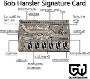 Bob Hansler Signature Card