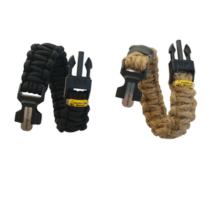Kodiak and Woolly Mammoth survival bracelets