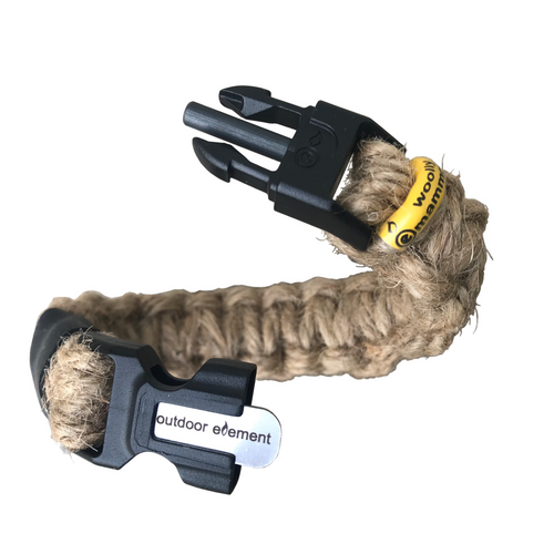 Woolly Mammoth Survival Jute Bracelet
