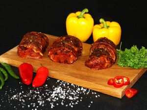 New product  added Jamaican Jerk Pork Parcels