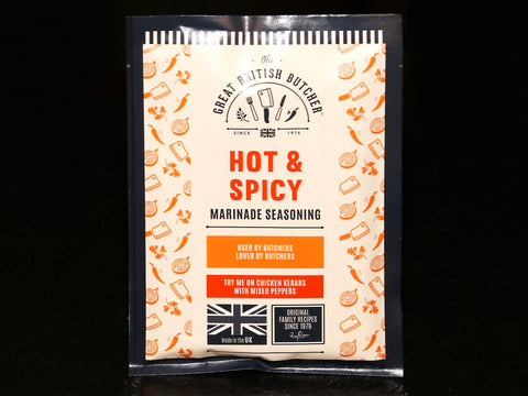 The Great British Butcher Hot & Spicy Marinade