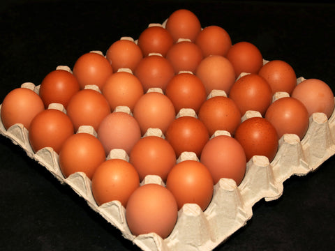 Tray of 30 Large Eggs