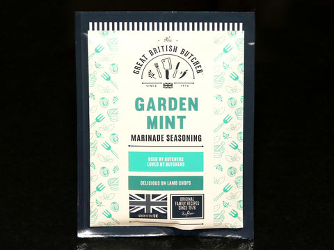 The Great British Butcher Garden Mint