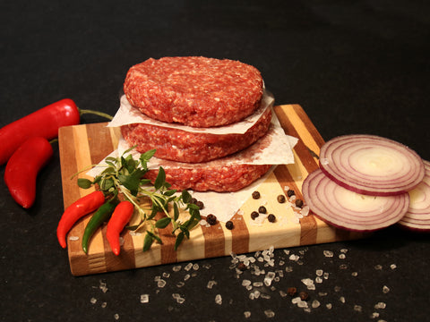4 x 4oz Chilli Burgers (Frozen)