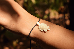 Cow Bone Turtle Bracelet / Anklet