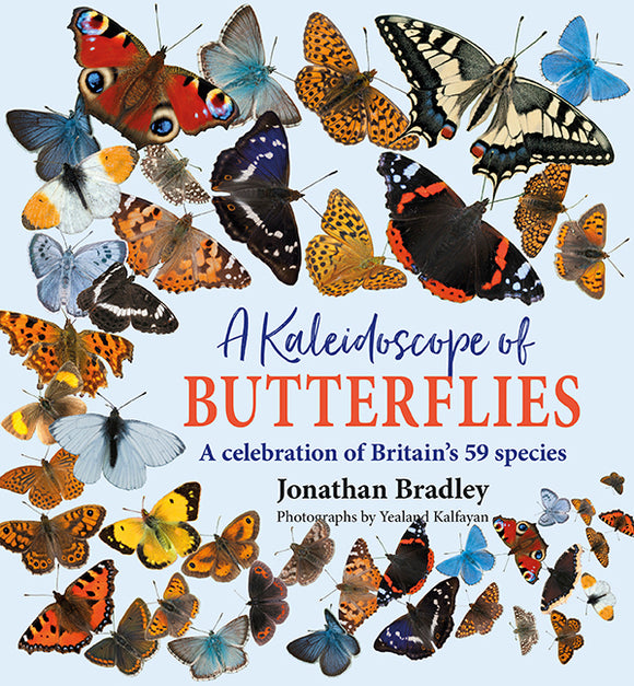 New book - A Kaleidoscope of Butterflies - available now!