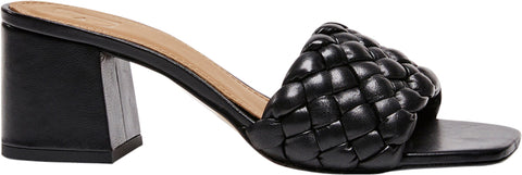 Odessa Sandals black leather