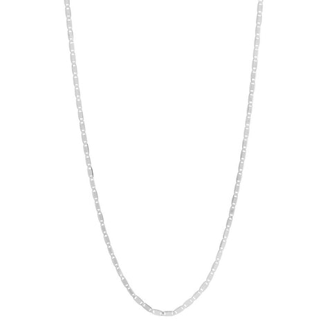 Karen Adjustable Necklace silver