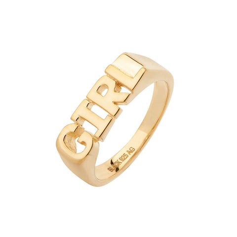 Girl Ring gold