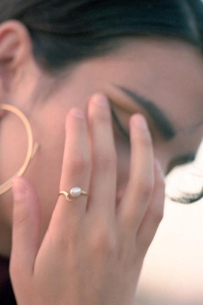Moonshine Ring gold