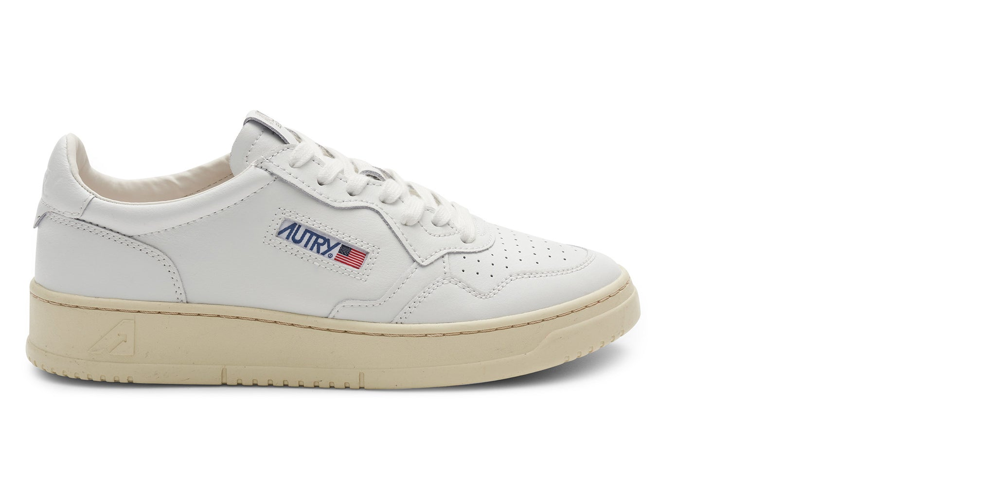Autry Medalist Sneaker low all white