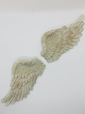 Small Ceramic Angel Wings