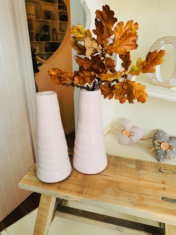 Small Candlestick - Blush Pink