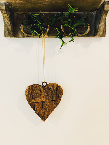Bark Heart Hanger