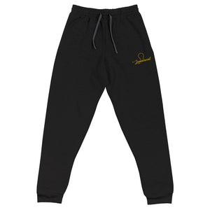 Luminescent Embroidered Joggers