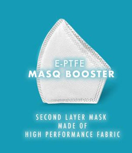 Premium Easy Breather MASQ: KN95 BOOSTER filter + Vents