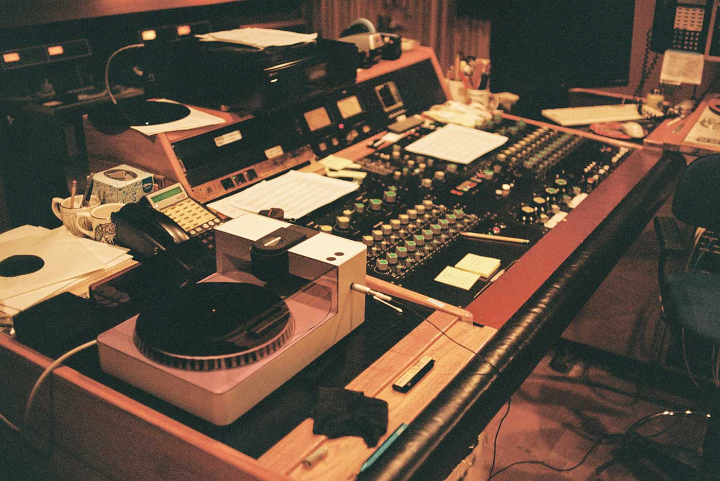 PHONOCUT in the Studio