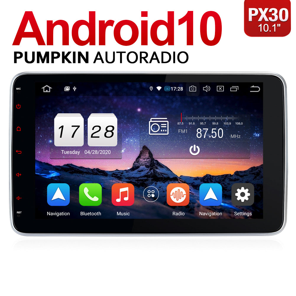 Youtube Video über Installation und Betrieb-Pumpkin 10.1 Zoll Din 1 Android 10 Autoradio
