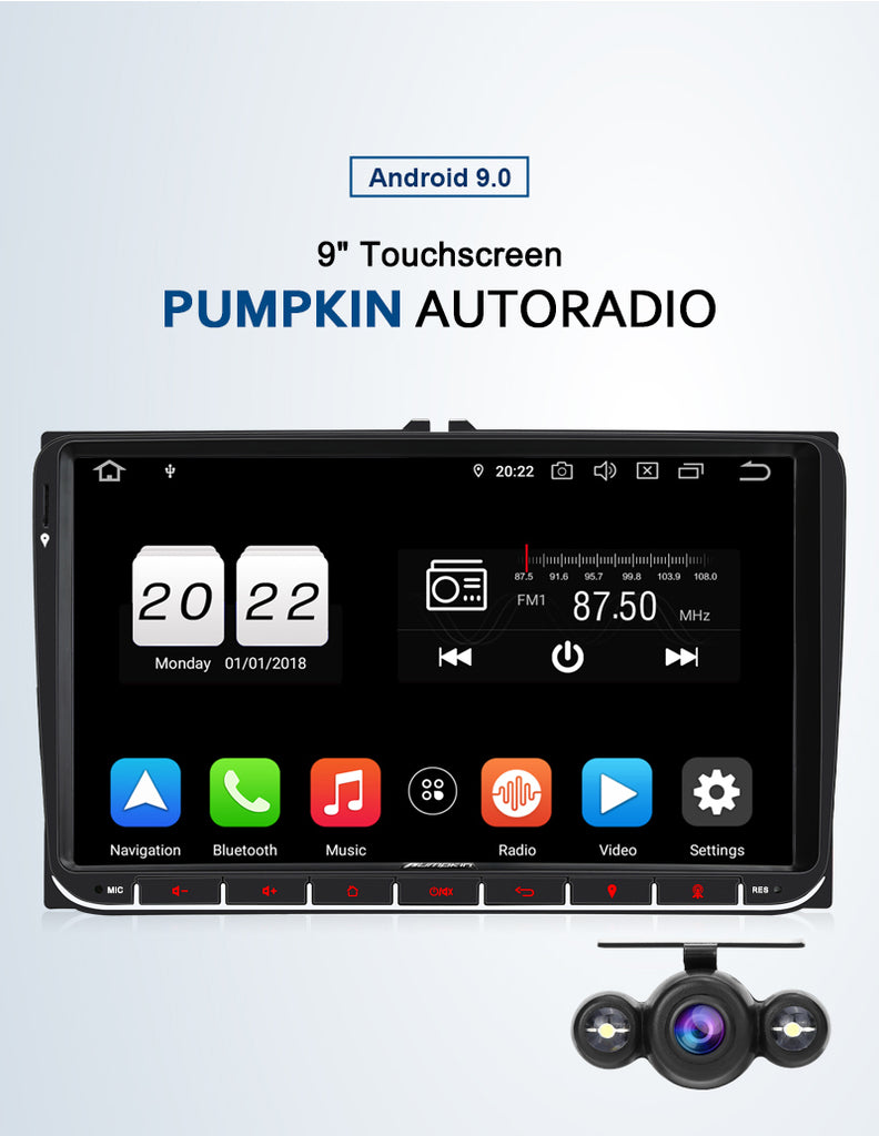 Android 9.0 vw Autoradio
