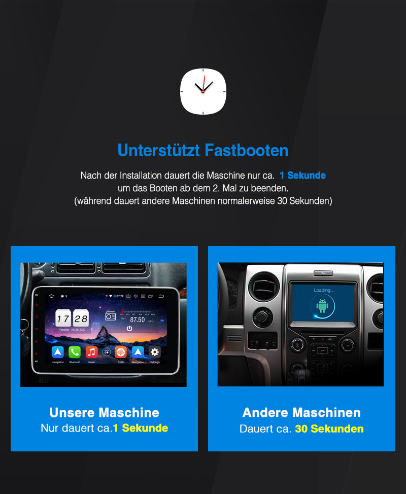 1 din android radio