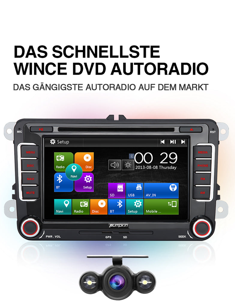 vw autoradio original