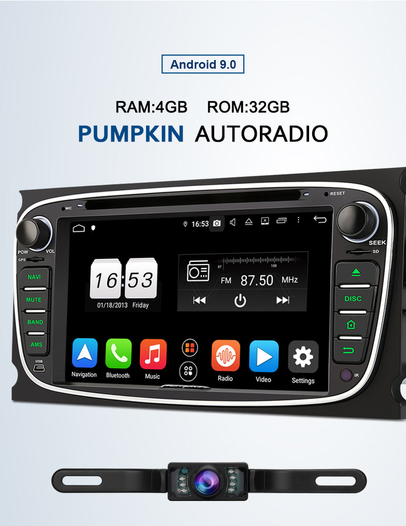 autoradio ford focus
