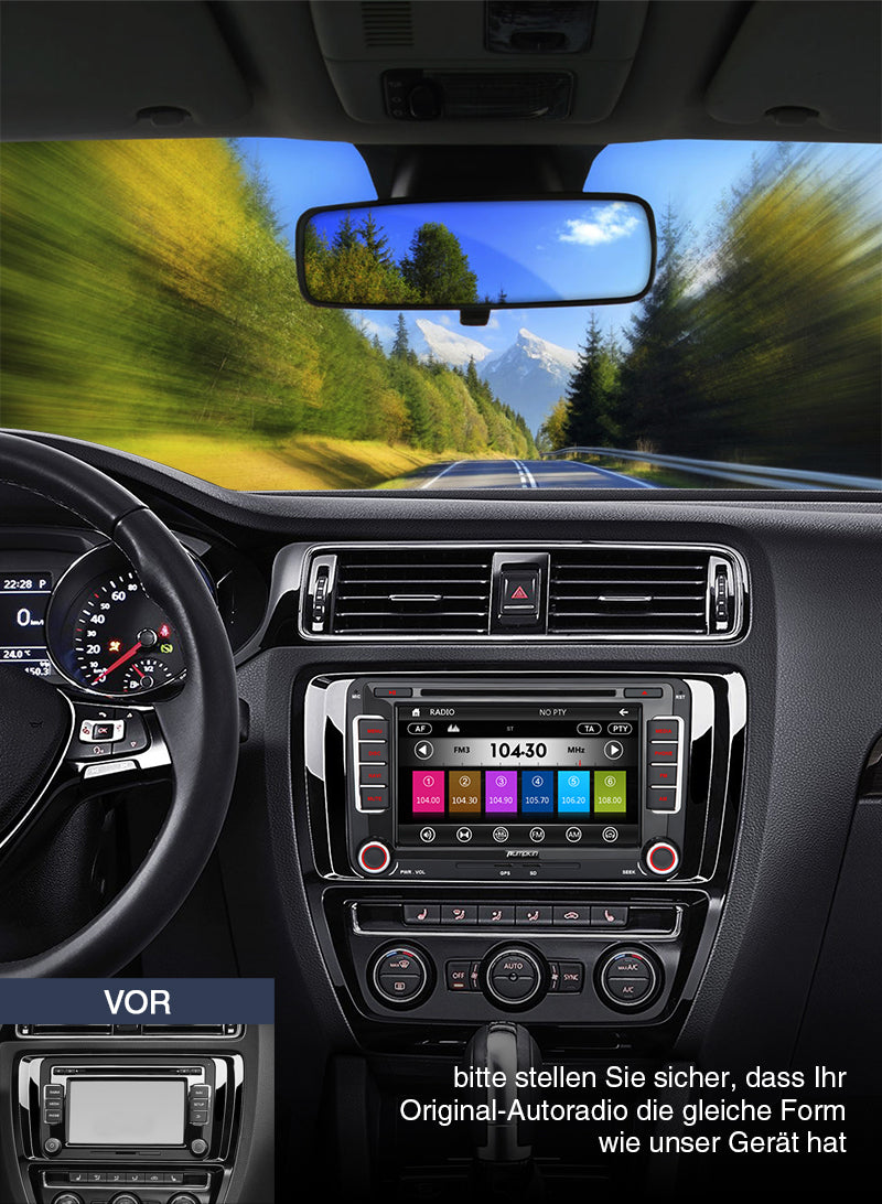 vw golf 5 autoradio