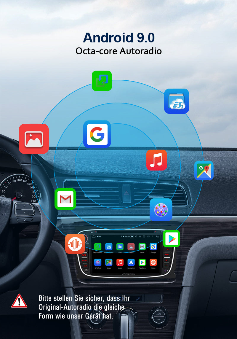 android autoradio ford focus