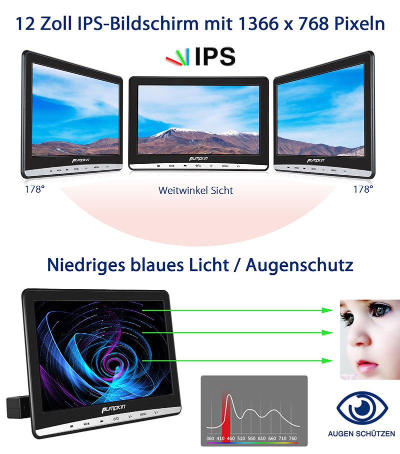 DVD Player mit IPS Screen