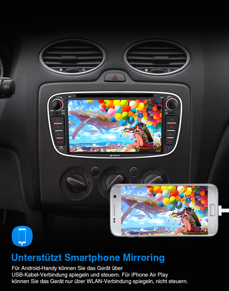 Android 10 autoradio ford s max 2009
