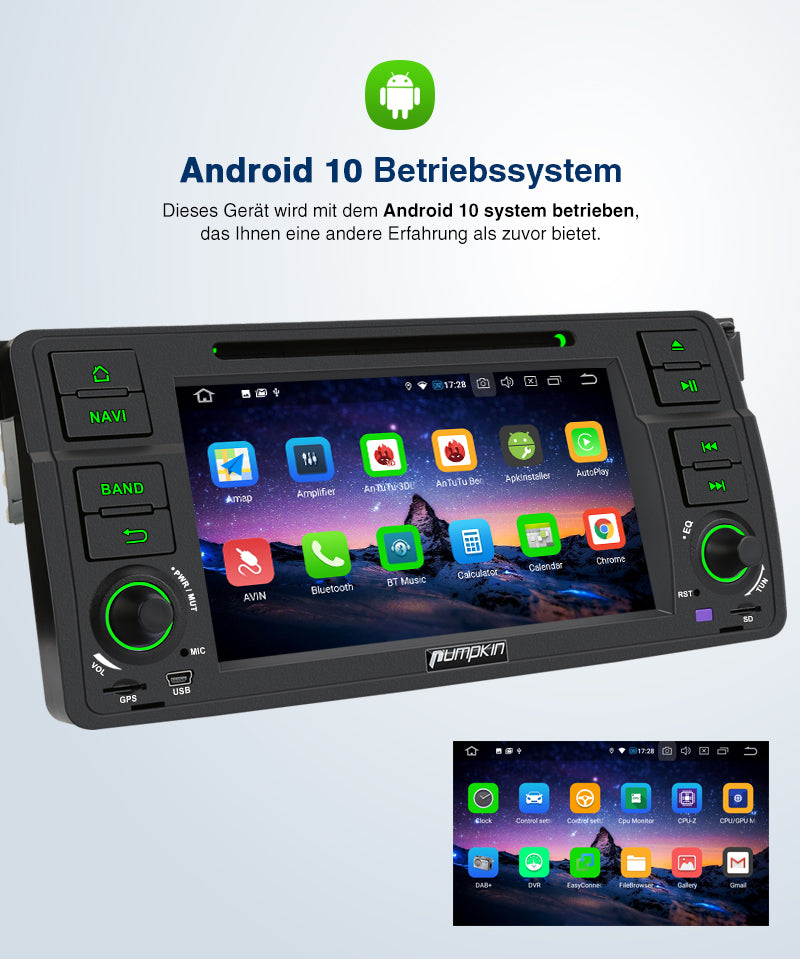 android 10 bmw radio adapter