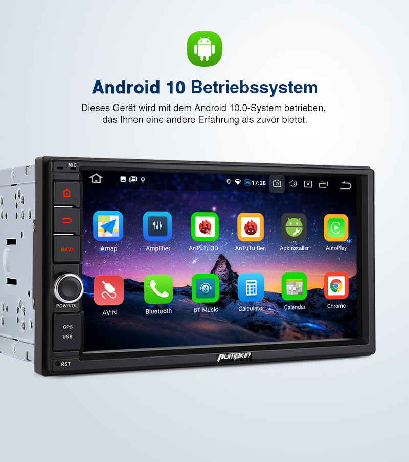 android 10 car multimedia player