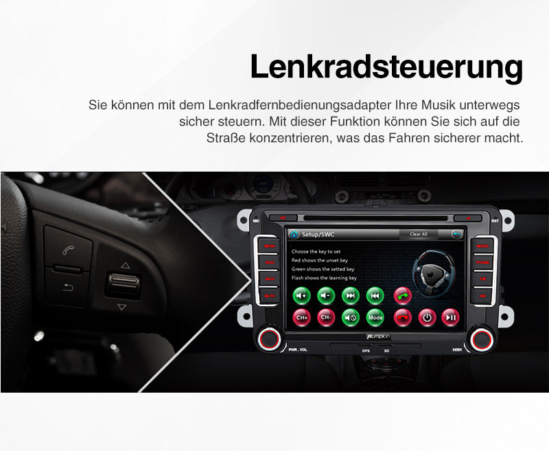 autoradio gps bluetooth golf 6