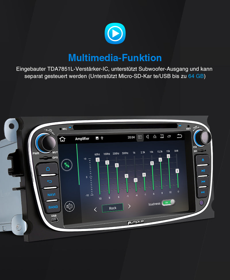 Android 10 autoradio ford transit