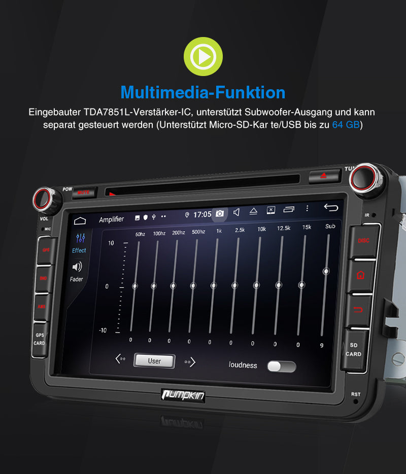 Multimedia vw radio
