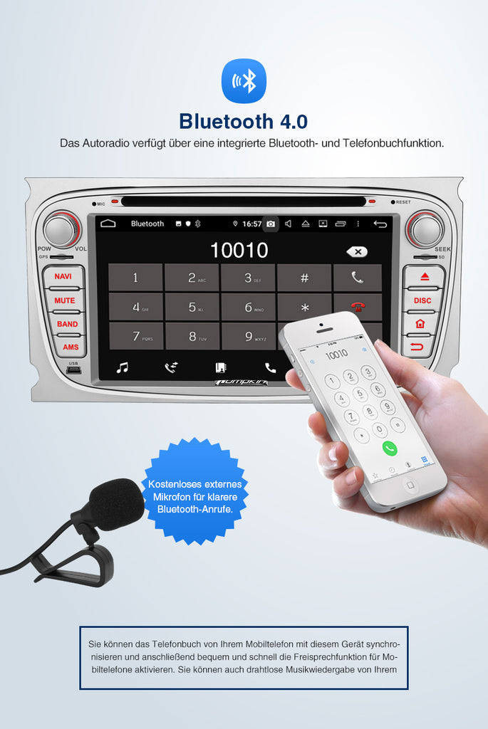 android radio ford focus