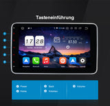 "Pumpkin 10,1"" Universal Android 10 Autoradio mit Touchscreen Doppel Din Mutimedia Player DSP Autoradio Unterstützung WIFI Bluetooth OBD2 Carplay DAB+"