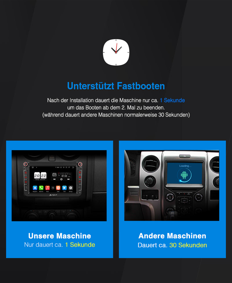 VW DAB Autoradio Android Navigationssystem für Golf Passat Caddy Touran Radio Upgrade