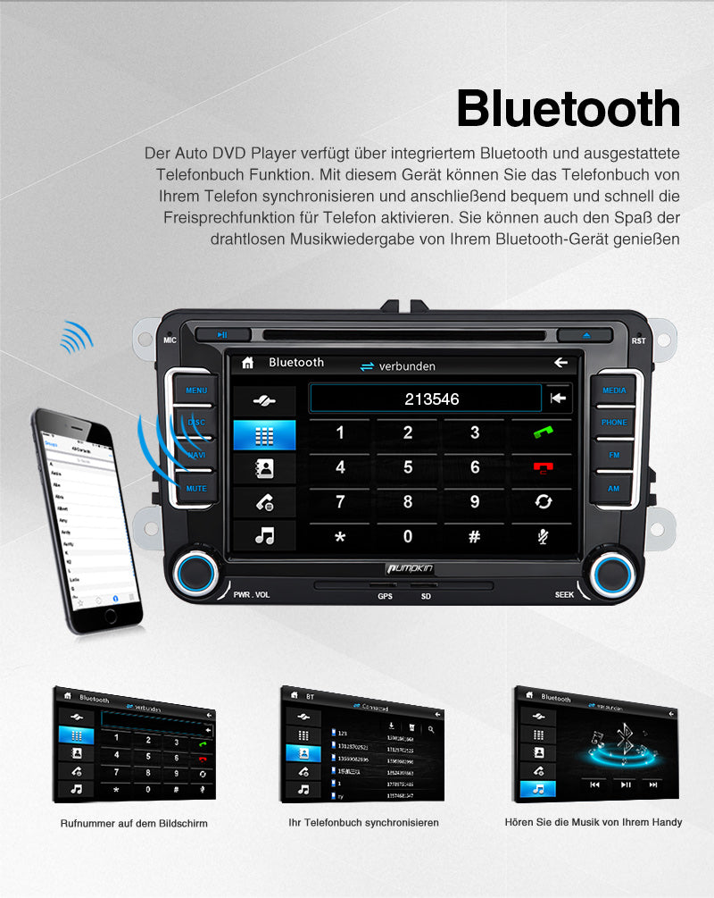 vw golf 6 autoradio