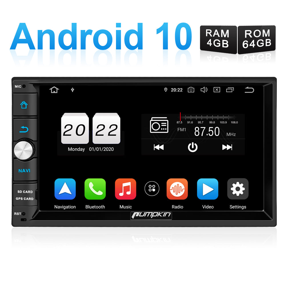 Android 10 Autoradio mit google maps