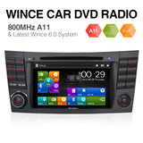 Pumpkin WinCE6.0 Autoradio für Mercedes Benz W211 W219 mit Navi Bluetooth CD Player
