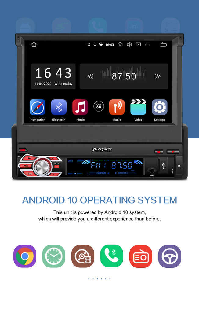 radio 1 din bluetooth