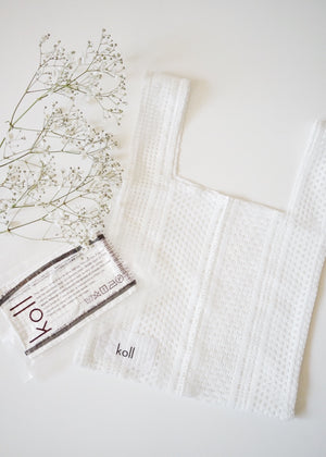 mesh bag & cloth  filter gift [White set]